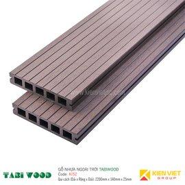 Sàn gỗ nhựa ngoài trời TABIWOOD KI52