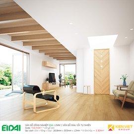 Sàn gỗ CN Edai - Vân gỗ màu sồi tự nhiên TSG-NOKT