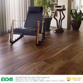 Sàn gỗ kĩ thuật Edai - Gỗ óc chó đen MRNH - WAL (2P)