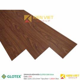 Sàn nhựa hèm khóa GLOTEX C606 | 6mm
