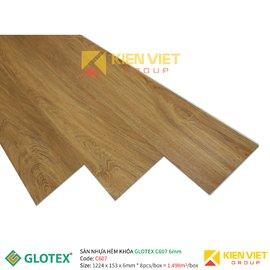 Sàn nhựa hèm khóa GLOTEX C607 | 6mm
