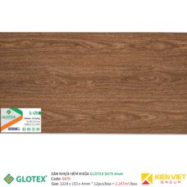 Sàn nhựa hèm khóa GLOTEX S479 | 4mm