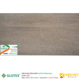 Sàn nhựa hèm khóa GLOTEX S480 | 4mm