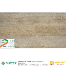Sàn nhựa hèm khóa GLOTEX S481 | 4mm