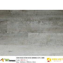 Sàn nhựa hèm khóa Winmax WM 315-2 | 4mm