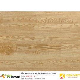 Sàn nhựa hèm khóa Winmax WM 316-9 | 4mm