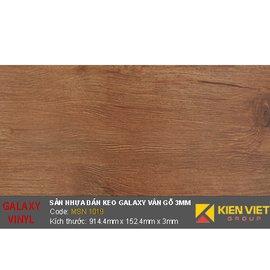 Sàn nhựa dán keo Galaxy vân gỗ MSN1019 | 3mm