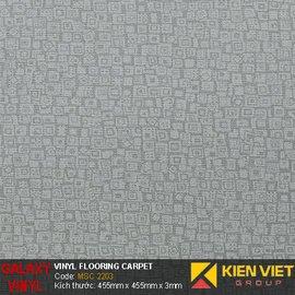 Sàn nhựa dán keo Galaxy vân thảm MSC 2203 | 3mm