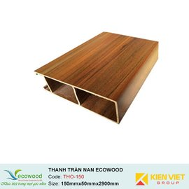 Thanh trần nan Louver EcoWood THO-150 |150x50mm