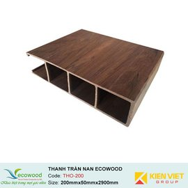 Thanh trần nan Louver EcoWood THO-200 | 200x50mm