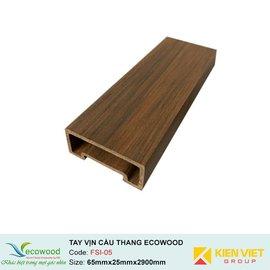 Tay vịn cầu thang Handrail EcoWood FSI-05 | 65x25mm