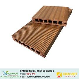 Sàn gỗ ngoài trời EcoWood DBO-140 | 140x25mm