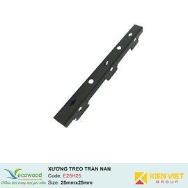 Thanh xương treo trần nan E25H25 Ecowood | 25x25x3000mm