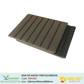 Sàn gỗ ngoài trời EcoWood EW-D02 | 122x16mm