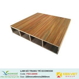 Lam gỗ trang trí Multipurpose Ecowood FSO-22040 | 220x40mm