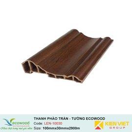Thanh phào trần-tường Ecowood LEN-10030 | 100x30mm