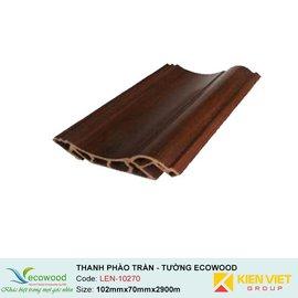 Thanh phào trần-tường Ecowood LEN-10270 | 102x70mm