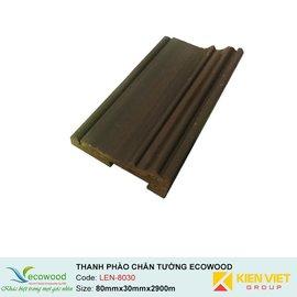 Thanh phào trần-tường Ecowood LEN-8030 | 80x30mm