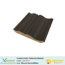 Thanh phào trần-tường Ecowood LEN-9514 | 95x14mm