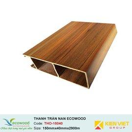 Thanh trần nan Louver EcoWood THO-15040  | 150x40mm