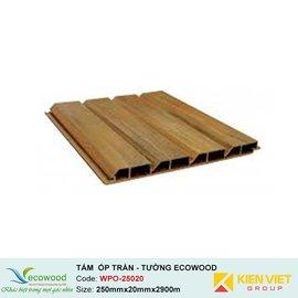 Tấm ốp tường trần EcoWood WPO-25020 | 20x250mm