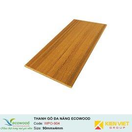 Thanh đa năng Ecowood WPO-904 | 90x4mm
