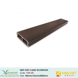 Thanh nẹp góc EcoWood YXK-06   38x12mm