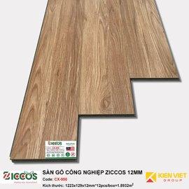 Sàn gỗ công nghiệp Ziccos CX950 | 12mm