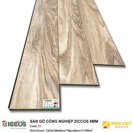 Sàn gỗ công nghiệp Ziccos Z1 | 8mm