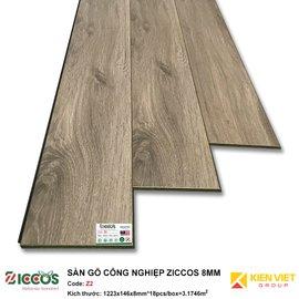 Sàn gỗ công nghiệp Ziccos Z2 | 8mm