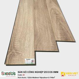 Sàn gỗ công nghiệp Ziccos Z4 | 8mm