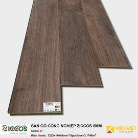 Sàn gỗ công nghiệp Ziccos Z7 | 8mm