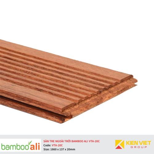 Sàn tre ngoài trời Bamboo Ali VTA-20C