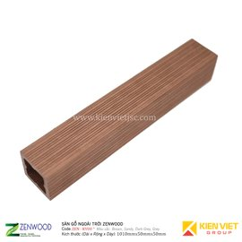 Sàn gỗ ngoài trời Zenwood ZEN-KV08 | 50x50mm