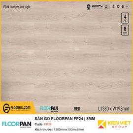 Sàn gỗ Floorpan FP24 | 8MM
