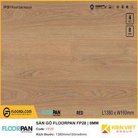 Sàn gỗ Floorpan FP28 | 8MM