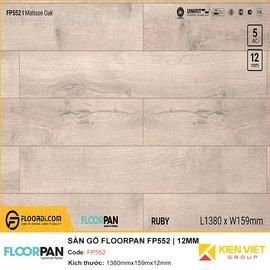 Sàn gỗ Floorpan FP552 | 12MM