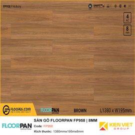 Sàn gỗ Floorpan FP958 | 8MM