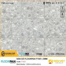 Sàn gỗ Floorpan FT001 | 8MM