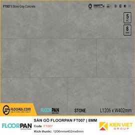 Sàn gỗ Floorpan FT007 | 8MM