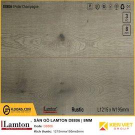 Sàn gỗ Lamton D8806 | 8mm