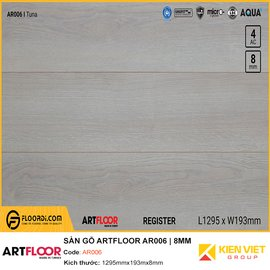 Sàn gỗ Artfloor AR006   8MM