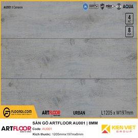 Sàn gỗ Artfloor AU001   8MM
