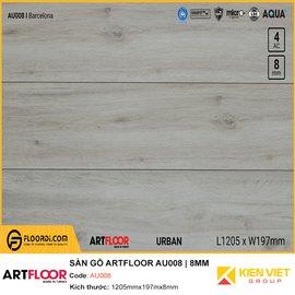 Sàn gỗ Artfloor AU008 | 8MM
