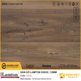Sàn gỗ Lamton D3035   12mm
