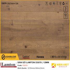 Sàn gỗ Lamton D3079 | 12mm