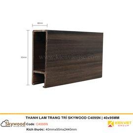 Thanh lam trang trí Skywood C4095N | 40x95mm