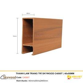Thanh lam trang trí Skywood C4095T | 40x95mm