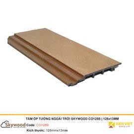 Tấm ốp tường ngoài trời Skywood CO128B | 128x13mm
