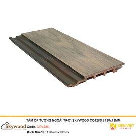 Tấm ốp tường ngoài trời Skywood CO128D | 128x13mm